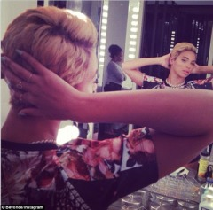 Move over Riri! Beyonce rocks short hair(Photos)