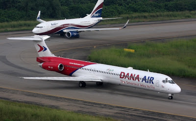 dana air license suspended again